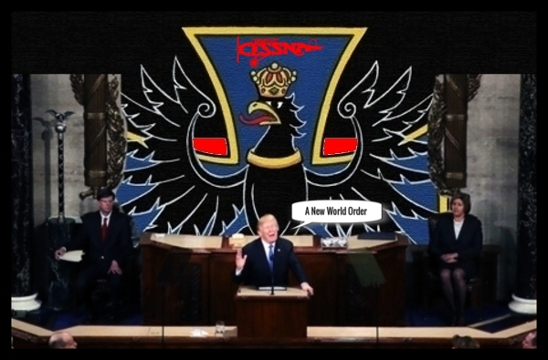 Trump Prussian backdrop New World Order 600