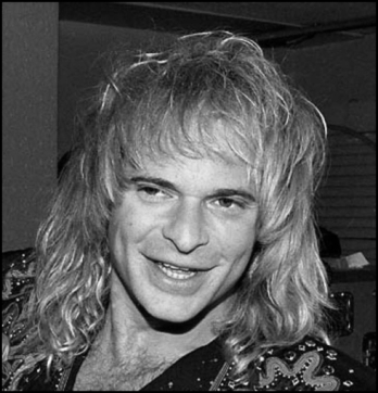 David Lee Roth Van Halen singer BW 490