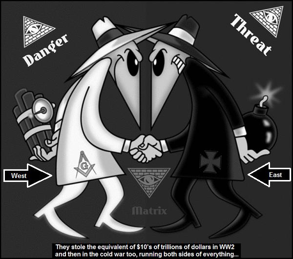 East West Spy versus Spy 10's of trillions 600
