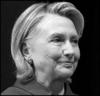 Hillary Clinton BW