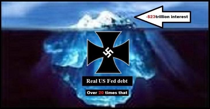 Iceberg US Fed debt MALTESE CROSS Large