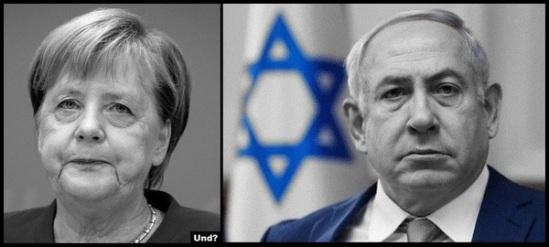 Merkal Netanyahu 600