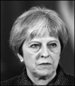 Theresa May BW Border small