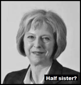 Theresa May half sister