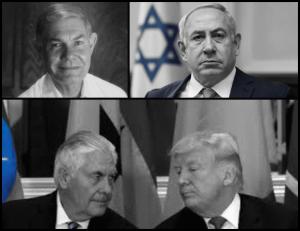 Tillerson Netanyahu Tillerson Jnr fake Trump
