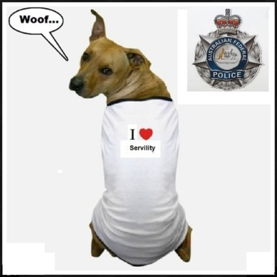 Australian Federal Police servility dog (2)