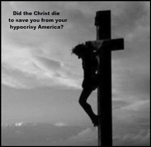 Christ cross hypocrisy 600