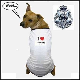 Victoria Police dog ~ 490