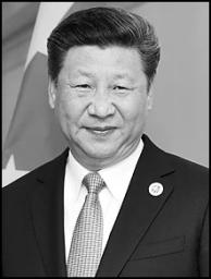 Xi Jinping smirking