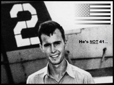 Bush # Two Ulrique the patriot ~ He's NOT 41 600