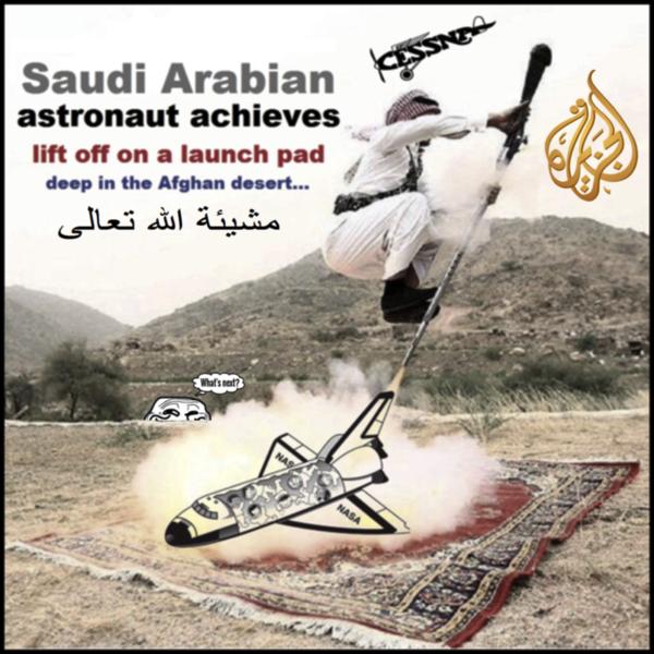 Saudi Arabian Al Qaeda Cessna Pilot SPACE SHUTTLE astronaut 600