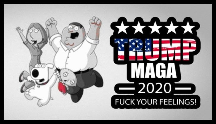 Family Guy Trump MAGA