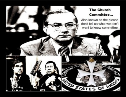 Frank Church Committee ~ Knight of Malta LARGE CIA 600
