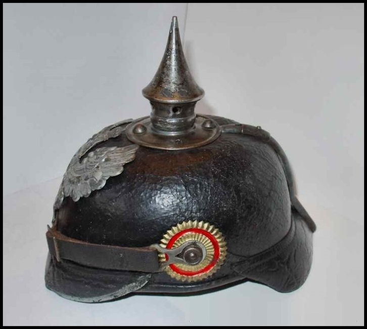 German hat pointy thing