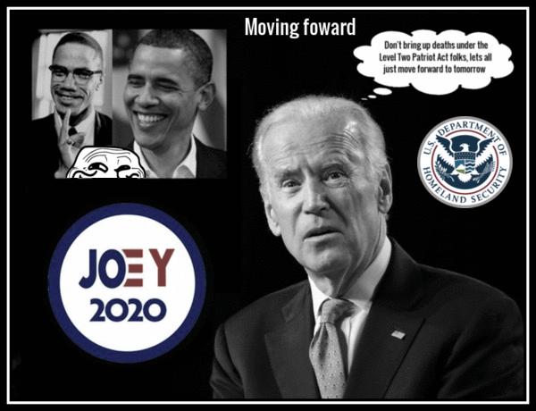 Joey Yo' Biden Obama 2020 moving forward 600