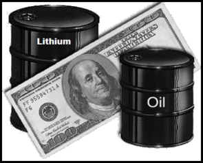 Money oil LITHIUM