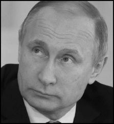 Putin head border