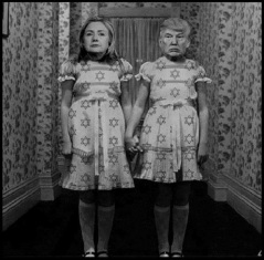 trump-and-hillary-israel-dress BW 600