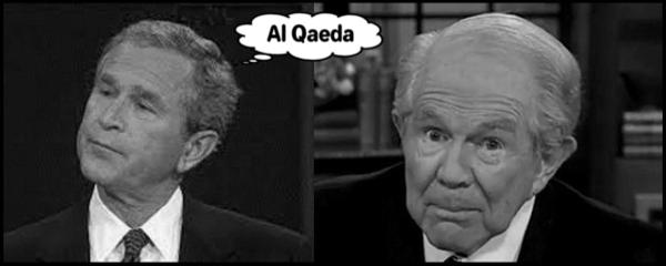 Al Qaeda Bush Robertson 600