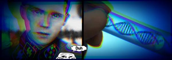 Mengele DNA SPOOKY BLUE Grin guy DUH 600