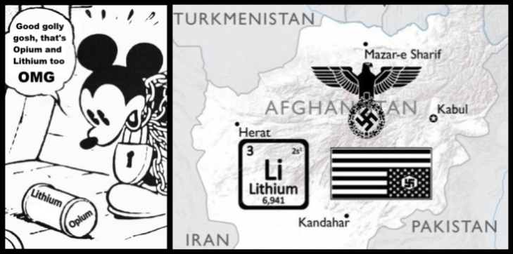 Mickey Mouse in Afghanistan