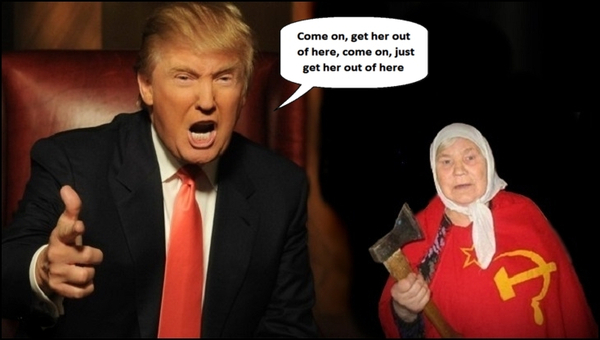 Trump and mother GET HER OUT 600