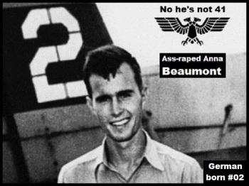 bush-02 600 double-eagle-ass-raped-anna-beaumont German born