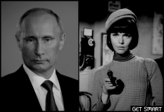 Putin Agent 86 gun GET SMART