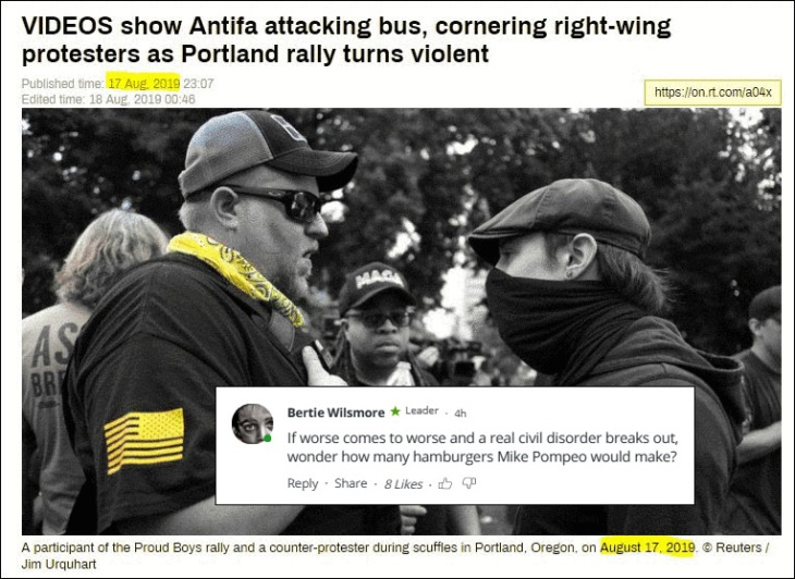 RT Antifa ADJUSTED Repeat POmpeo Hamburger FACE PAGE