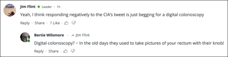 RT CIA comment digital colonoscopy