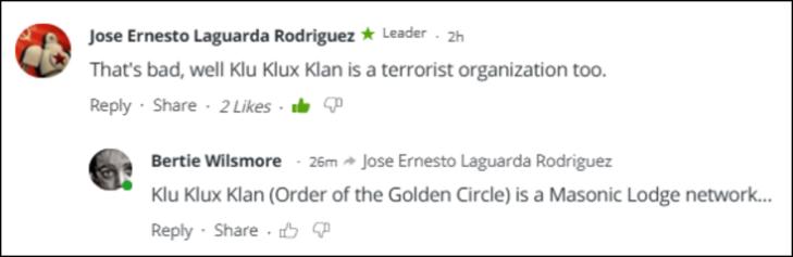 RT Klu Klux Klan