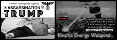Fake Trump assassination Kinetic Energy Weapon