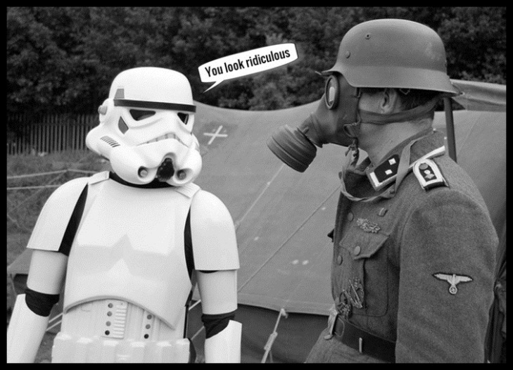 Star Wars Nazi you look ridiculous
