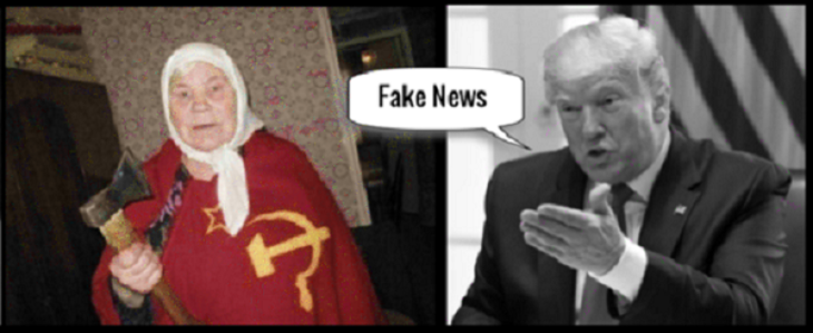 TRUMP Russian mother FAKE NEWS MORE RED