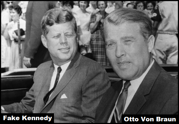 Fake Kennedy Otto Von Braun 600