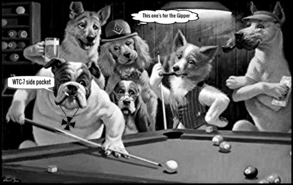 Nazi dogs WTC 7 large 600 BW