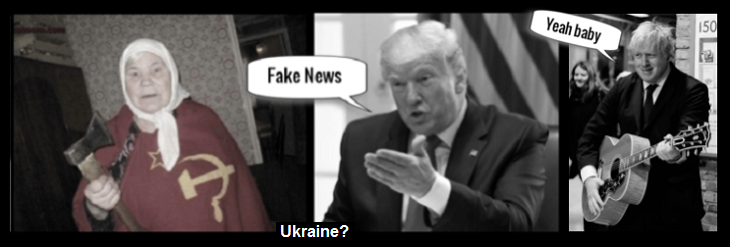 Russian lady fake Trump fake news Johnson yeah baby ~ UKRAINE (2)