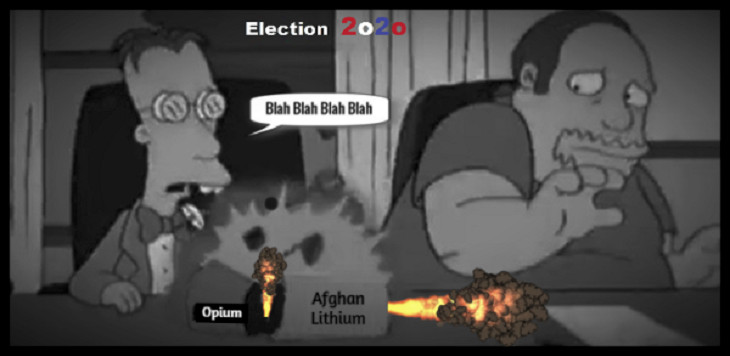 AAA Simpsons Election BETTER DARKER 2020 Afghan Opium Lithium sarcasm 730 LQ