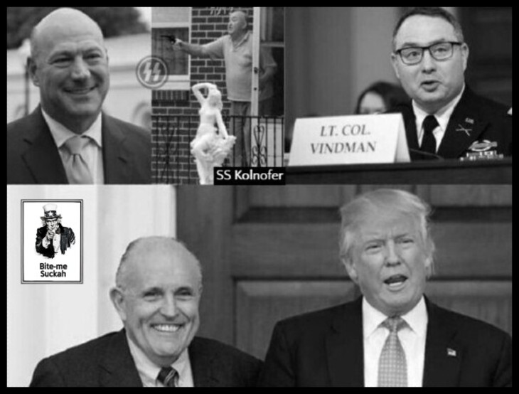 cohn-kolnofer-ss-vindman-giuliani-faux-trump-730