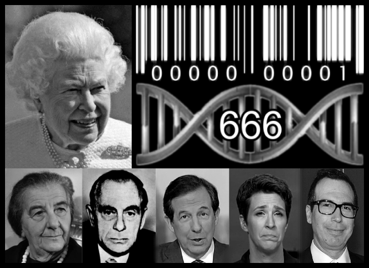 Queen Elizabeth BW 400 high 307 wide DNA BAR CODE EDIT CRAPPY 730