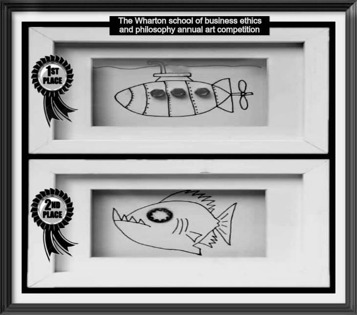 Strange submaraine fish Wharton Adjusted ANNUAL ART COMPETITION