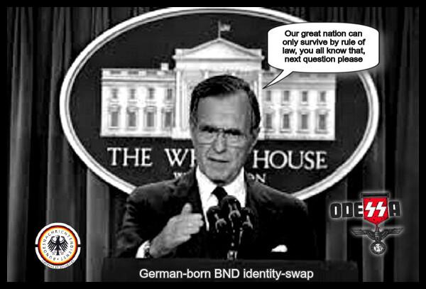 GHW Bush White House BND Odessa 600 BORDER