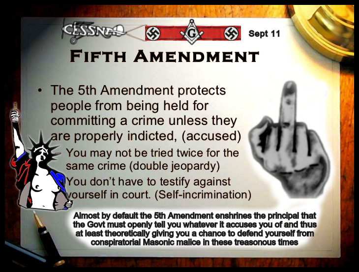 The 5th Amendment VERY EDITED 730